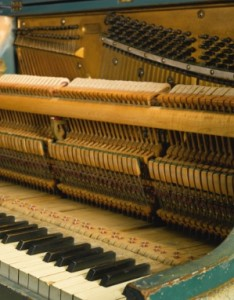 inside the Casablanca Piano