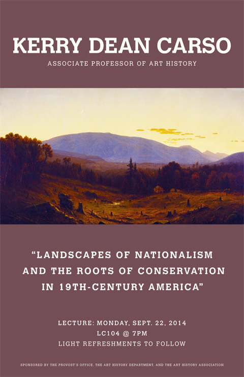 Landscapes of Nationalism and the Roots of Conservation in the 19th-Century America