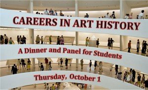 Careers in Art History: A Dinner and Panel for Students